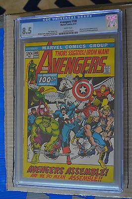 AVENGERS  100  CGC VERY FINE 85  JUN 1972  MARVEL COMICS CGC Comics