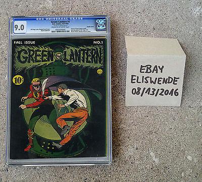 Green Lantern 1 CGC 90  1941  DC Comics RARE 0055970005