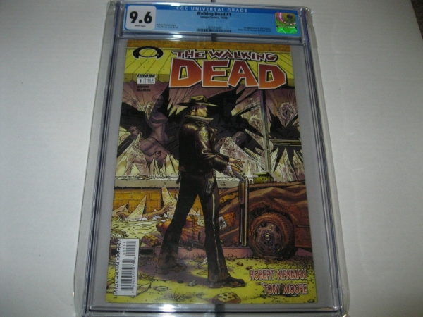 WALKING DEAD 1 CGC 96 RARE LIMITED BOOK 2003 IMAGE COMICS A GREAT AMC SHOW NM