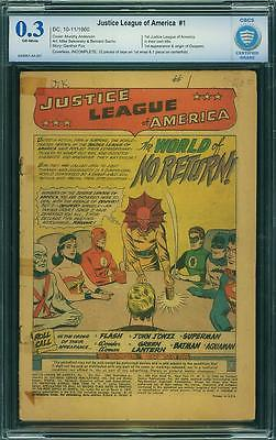 BRAVE BOLD 28 AND JUSTICE LEAGUE OF AMERICA 1 CGC SUPERMAN BATMAN FLASH 2 4 59