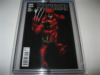 WOLVERINE 1 CGC92  J SCOTT CAMPBELL DEADPOOL VARIANT  RARE  NM    MARVEL