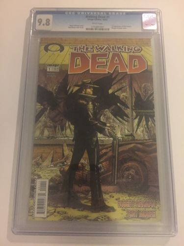 The Walking Dead 1 Cgc 98