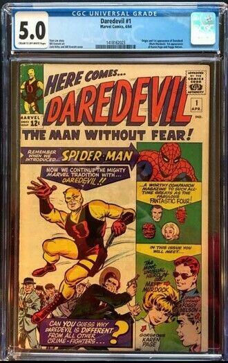 Daredevil 1 1964 CGC 50
