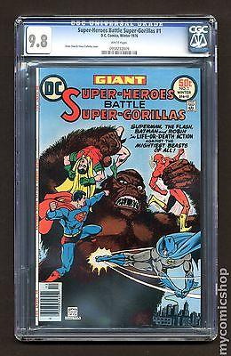 Super Heroes Battle Super Gorillas 1976 1 CGC 98 0958292009
