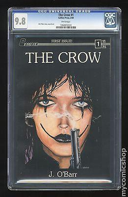 Crow 1989 Caliber 1st Printing 1 CGC 98 1360612010