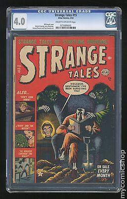 Strange Tales 19511976 1st Series 15 CGC 40 0270806005