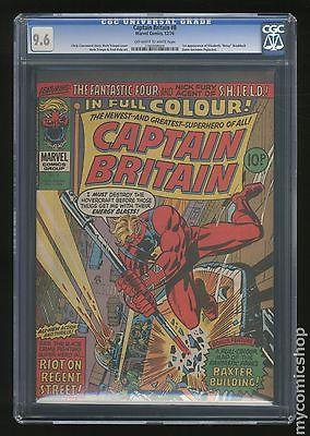 Captain Britain 1976 United Kingdom 8 CGC 96 1360568004