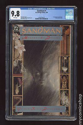 Sandman 1989 2nd Series 1 CGC 98 0293325014
