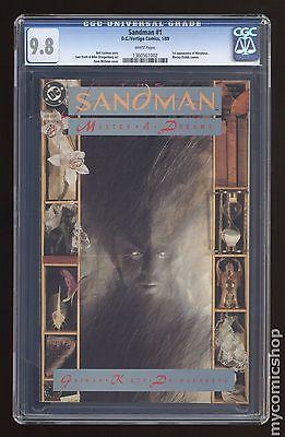 Sandman 1989 2nd Series 1 CGC 98 1360561002