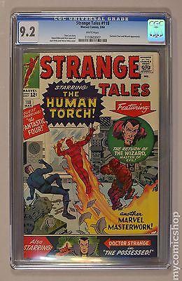 Strange Tales 19511976 1st Series 118 CGC 92 1110603007