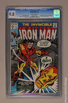 Iron Man 1968 1st Series 21 CGC 98 0988552009