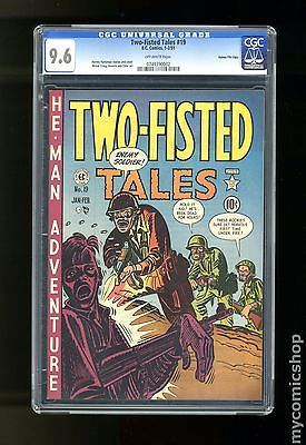 Two Fisted Tales 1950 EC 19 CGC 96 0749390002 Gaines File Copy