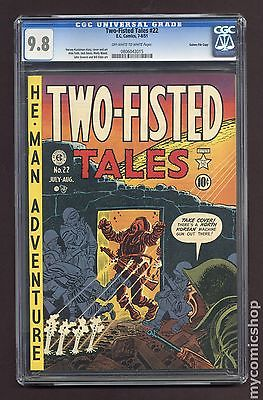 Two Fisted Tales 1950 EC 22 CGC 98 0806043015