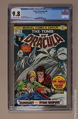 Tomb of Dracula 1972 1st Series 38 CGC 98 1445755015