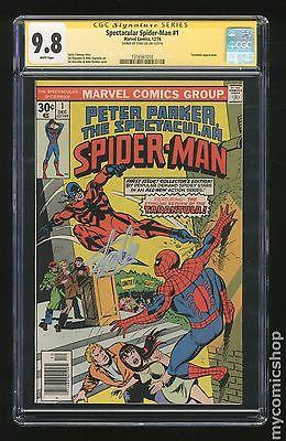 Spectacular SpiderMan 1976 1st Series 1 CGC 98 SS 1316561010