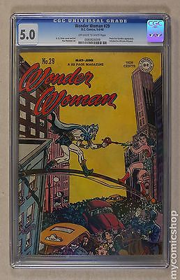 Wonder Woman 19421986 1st Series DC 29 CGC 50 0080928009