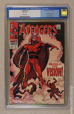 Avengers 1963 1st Series 57 CGC 75 0110147007