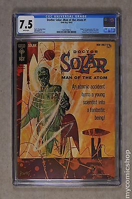 Doctor Solar 1962 Gold Key 1 CGC 75 1445769013