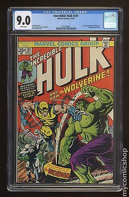 Incredible Hulk 19621999 1st Series 181 CGC 90 1445788001
