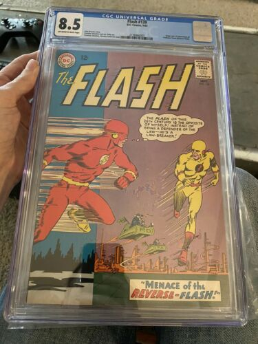 The Flash 139 Cgc 85 1963 First Professor Zoom