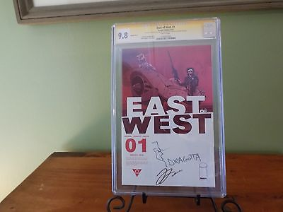 East Of West  1 Retailer RRP Variant CGC 98 SS x 2  Sketch  The next Saga