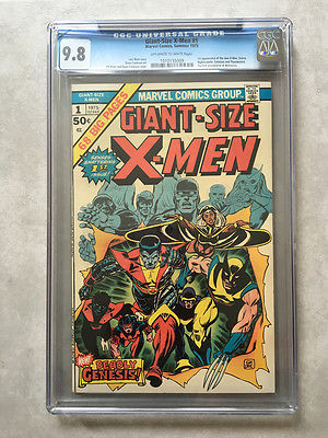 GiantSize XMen 1 CGC 98 1st new XMen 2nd Wolverine