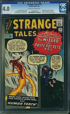 Strange Tales 110 CGC 40 CM to OW Pgs 1st appearance of Doctor Strange