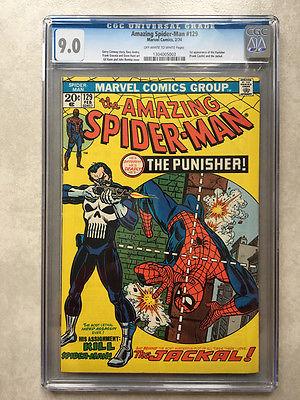 Amazing SpiderMan 129 CGC 90 1st Punisher