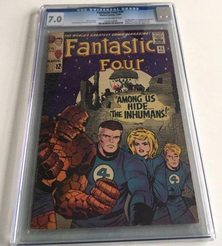 Fantastic Four 45 CGC 70