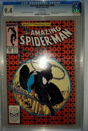 Amazing Spiderman 300 cgc 94  1st full venom appearance