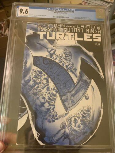 Teenage Mutant Ninja Turtles 2 CGC 96