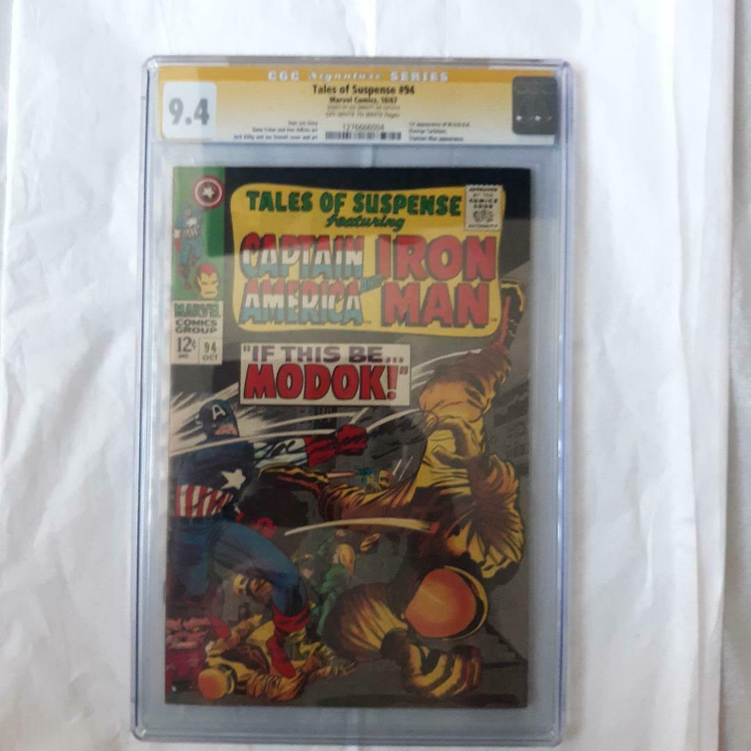 Tales of Suspense 94 1967 CGC 94 SS Signed Joe SInnott 1st Appearance Modok