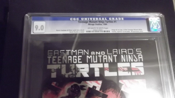 Teenage Mutant Ninja TURTLES 1 1984 1st Print CGC 90 BEAUT 0502719001