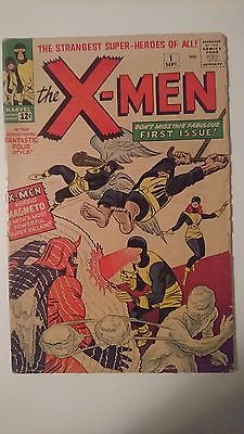 XMen 1 was CGC VG 35 Cream to OffWhite