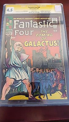 Fantastic Four 48 45 CGC SS Signature Series Stan Lee 1st Silver Surfer Key