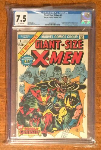 XMen Giant Size 1 CGC 75 1975