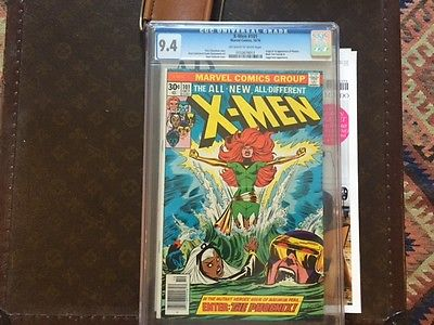 The XMen 101 Oct 1976 Marvel CGC 94 1st Phoenix  Juggernaut