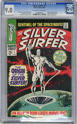 1968 Silver Surfer 1 CGC 90