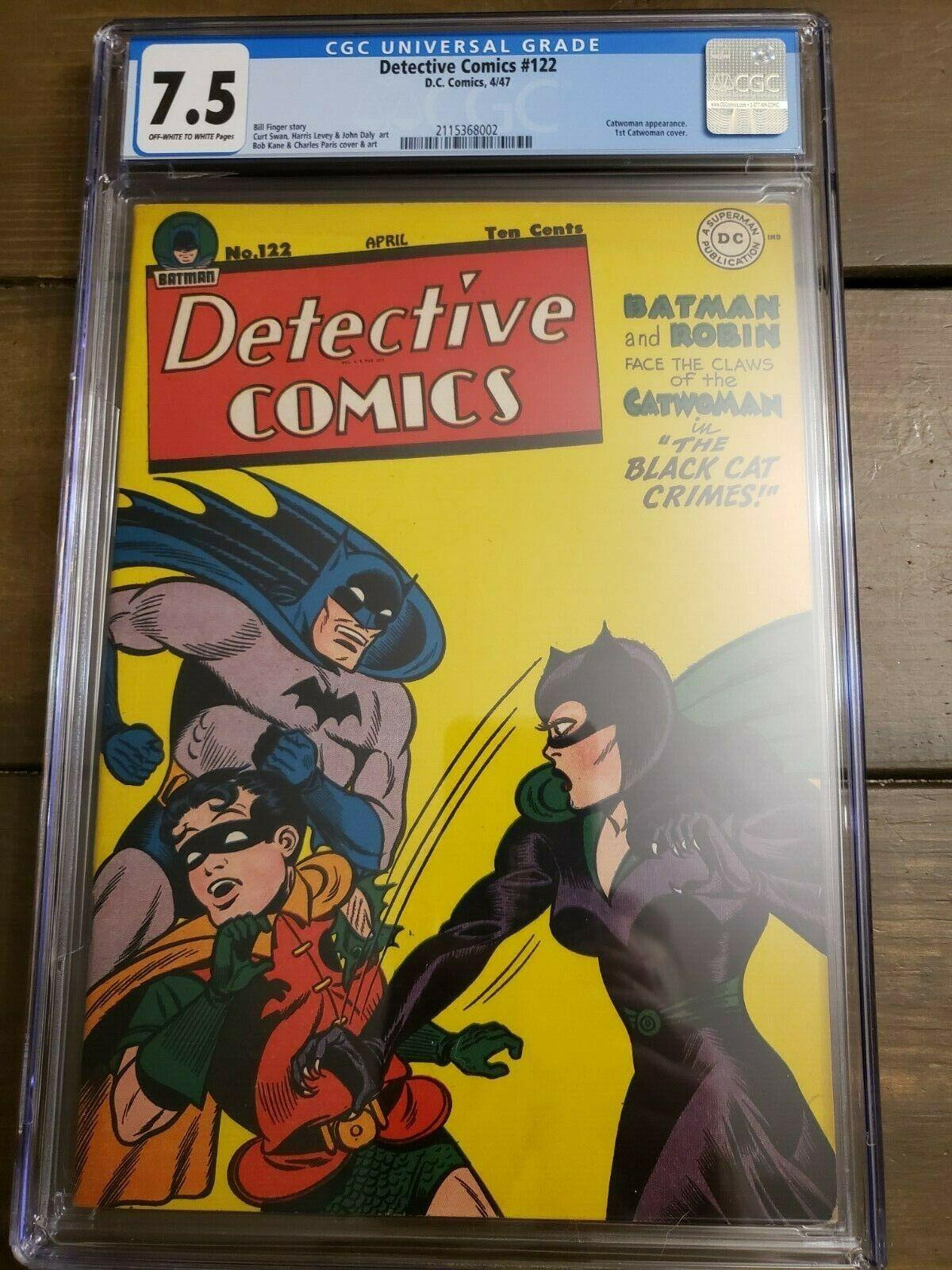 Detective Comics 122 CGC 75