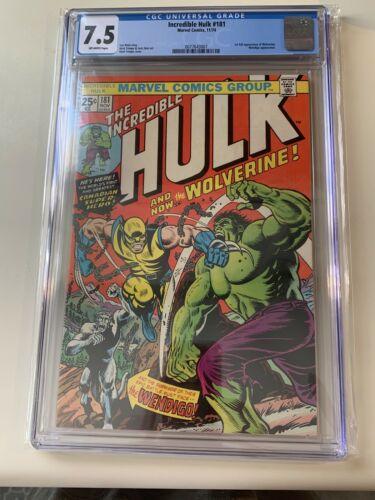 incredible hulk 181 cgc 75