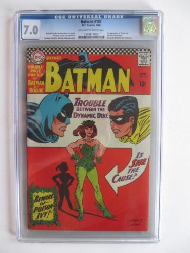 Batman  181  CGC 70 GRADE  1st app Poison Ivy Robin DC Check out Comics