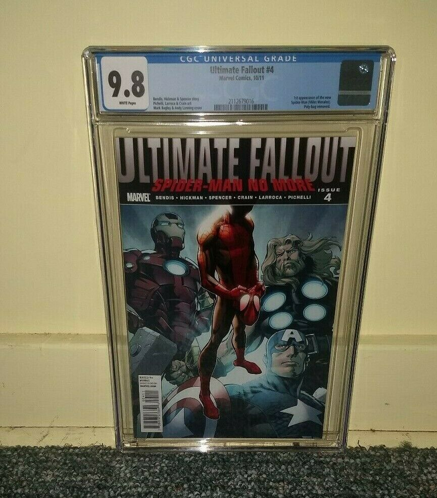 Ultimate Fallout 4 98 CGC First appearance of Miles Morales the New SpiderMan