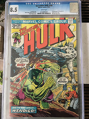 The Incredible Hulk 180 CGC 85