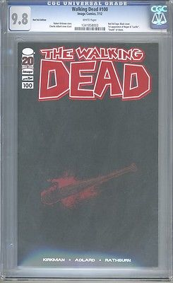 The Walking Dead 100 Red Foil Variant CGC 98 LIMITED TO 250 COPIES