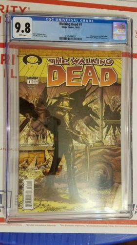 WALKING DEAD 1 1ST PRINT CGC 98 1003 Image Comics