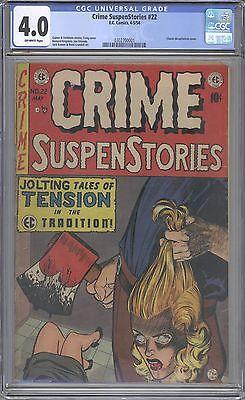 Crime Suspense Stories 22 CGC 40
