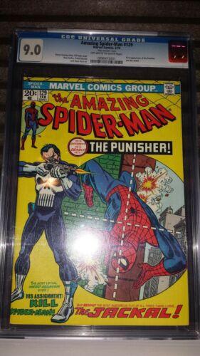 Amazing SpiderMan  129 CGC 90 1974 1st Punisher Mark Jeweler RARE