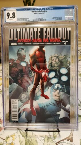 Ultimate Fallout 4 CGC 98 First Miles Morales SpiderMan UF4