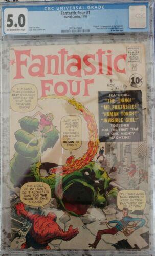 Fantastic Four 1 1961 CGC 50