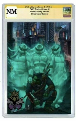 Last ronin 1 CGC copy 96 SS by Aaron Bartling Variant LTD to 300 presale
